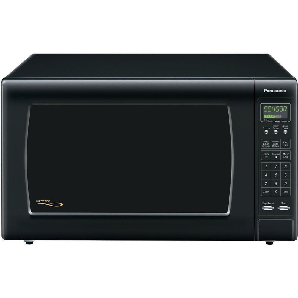 Panasonic nn h76bf genius microwave review zapkitchen - Built in microwave home depot ...