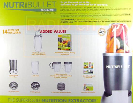 Nutribullet 14 Piece Nutrition Extractor Blender Juicer