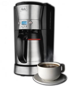 Melitta 46894A 10 Cup Thermal Programmable Coffeemaker