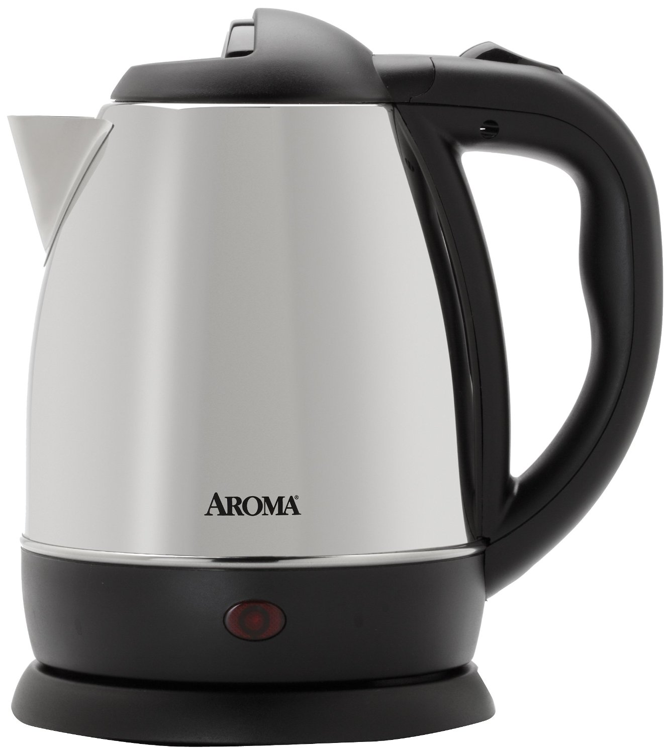 Aroma 1.2 Litre (5-Cup) Stainless Steel Cordless Electric Water Kettle