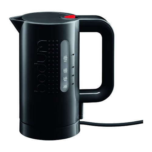 Bodum Bistro 17-Ounce, Green, Cordless, Small Electric Water Kettle