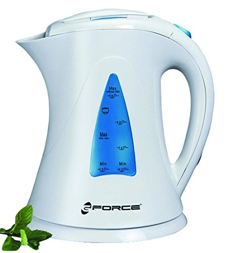 GForce GF-P1238-721 1.7 Litre Capacity 1500 Watts With Built In Removable Washable Filter, Automatic Small Electric Jug Kettle