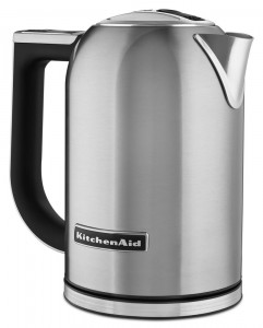 Kitchen Aid KEK1722SX 1.7-Liter Electric Kettle with LED Display