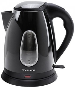 Ovente KS96S 1.7-Liter, Brushed Stainless Steel, Cordless Electric Kettle