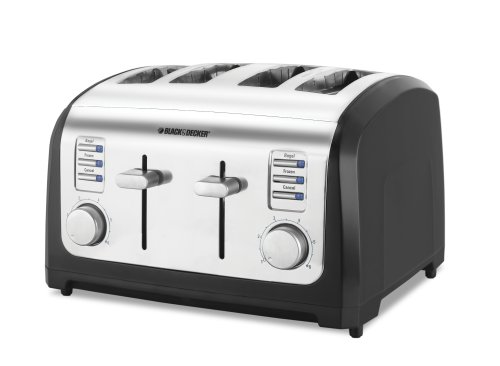 Black & Decker T4030 4-Slice Toaster, Stainless Steel Review