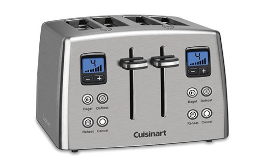 Cuisinart CPT-435 Countdown 4-Slice Stainless Steel Toaster Review
