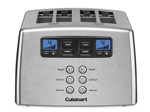 Cuisinart CPT-440 Touch to Toast Leverless 4-Slice Toaster Review
