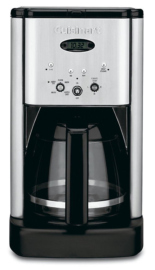 Conair Cuisinart Brew Central DCC-1200 12 Cup Programmable Cofeemaker (Black/Silver) Review