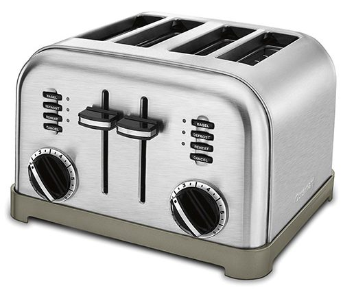 Cuisinart CPT-180 Metal Classic 4-Slice Toaster, Brushed Stainless Review
