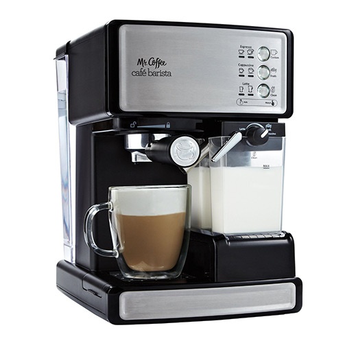 Mr. Coffee Cafe Barista Espresso Maker with Automatic milk frother, BVMC Review-ECMP1000