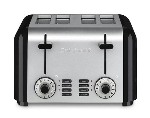 Cuisinart CPT-340 Compact Stainless 4-Slice Toaster, Brushed Stainless Review