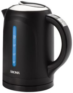 Aroma 1.5 Litre (6-Cup) Stainless Steel, Digital Electric Water Kettle