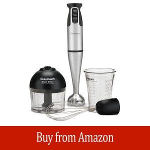 Cuisinart Smart Stick 2 Speed Hand Blender, Brushed Stainless Steel