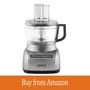 KitchenAid KFP0711CU 7 Cup Food Processor, Contour Silver