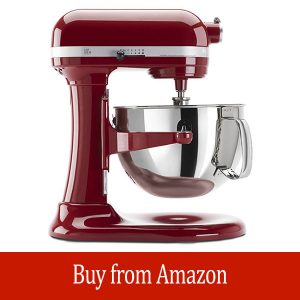 KitchenAid KP26M1XER 6 Qt. Professional 600 Series - Empire Red