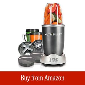 Magic Bullet NutriBullet 12-Piece High-Speed Blender/Mixer