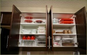 Arranging The Cabinets