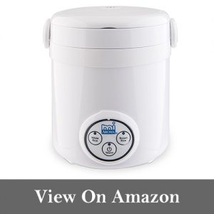 Aroma Housewares Mi 3-Cup (Cooked) (1.5-Cup UNCOOKED) Digital Cool-Touch Mini Rice Cooker
