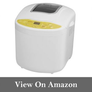 Breadman TR520 Programmable Bread Maker for 1, 1 ½ , and 2-Pound Loaves, Cream