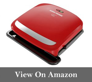 George Foreman GRP360R 4 Serving Removable Plate 360 Grill