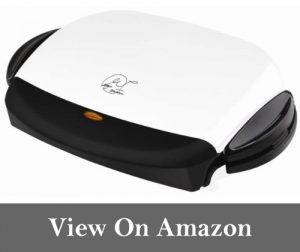 George Foreman GRP4 Next Grilleration 5-Burger Grill with Removable Plates