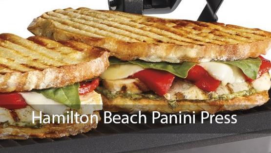 best hamilton beach panini press and sandwich makers zapkitchen. Black Bedroom Furniture Sets. Home Design Ideas