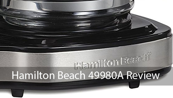 Review Hamilton Beach 49980a Single Serve Coffee Brewer And Full